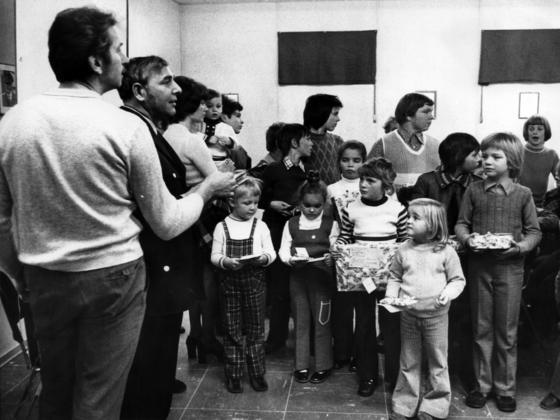 Feuerwehr Königstädten - Legendäre Nikolaus-Feiern - 1973
