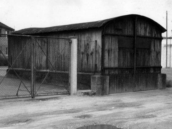 Feuerwehr Königstädten - Feuerwehrgerätehaus 1945-1961