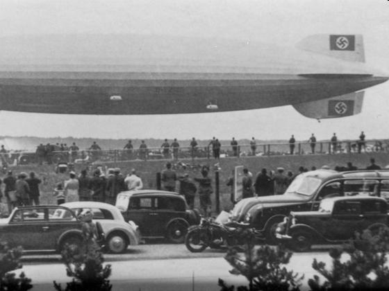 Letzter Start - LZ 129 - Hindenburg - Last Take Off - Frankfurt am Main 1937 - Autobahn A5