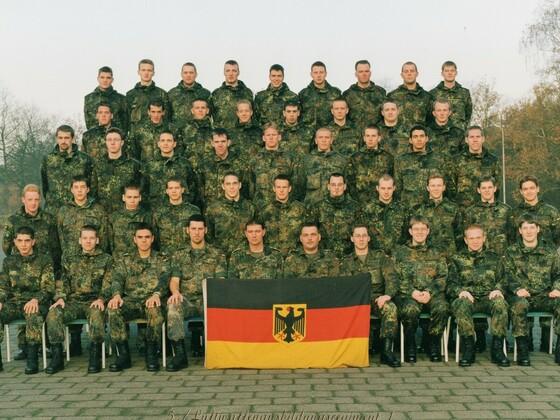 Luftwaffenausbildungsregiment 1, III Zug, in Budel - Niederlande - Jahr 2000