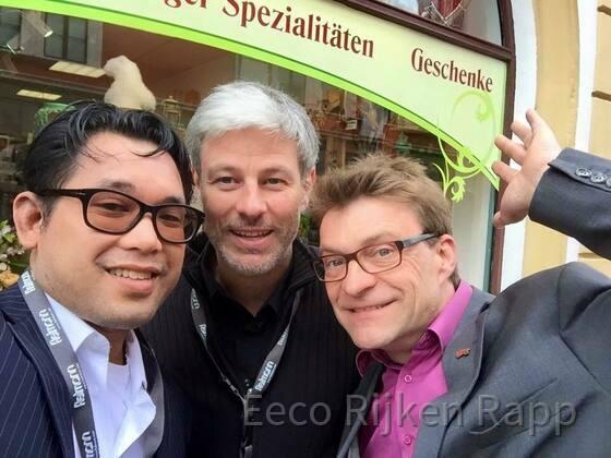 Eeco Rijken Rapp 🎹 David Herzel 🥁 Bertram Becher 🎤