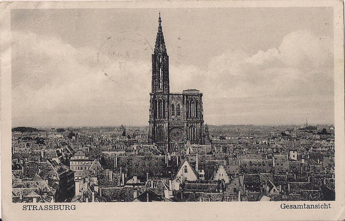 Postkarte - Heimatpost - Strassburg - 2. Weltkrieg