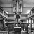 Evangelische Kirche Nauheim um 1930 Innenraum