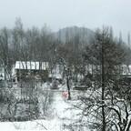 Wałbrzych Blick auf Burgberg