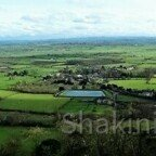 Glastonbury - wunderschöne Panorama