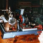 Dampfmaschine - Originalgetreu - Brennstoff Esbit