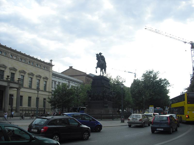 Monumentales Reiterstandbild Friedrichs des Großen - Der alte Fritz