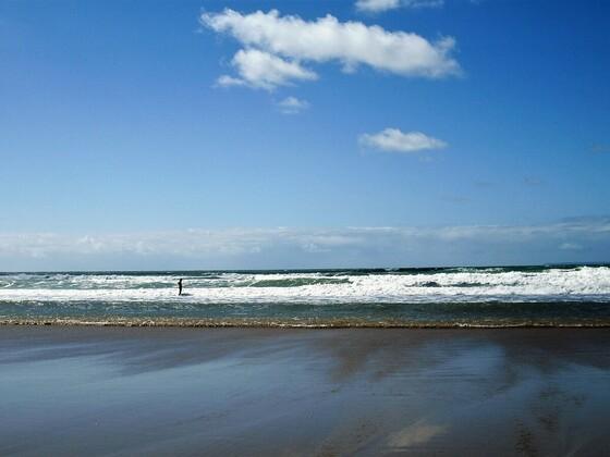 Schöner Strand - Woolacombe