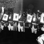 Feuerwehr Königstädten - Fanfarenzug bei Fastnacht - 1965