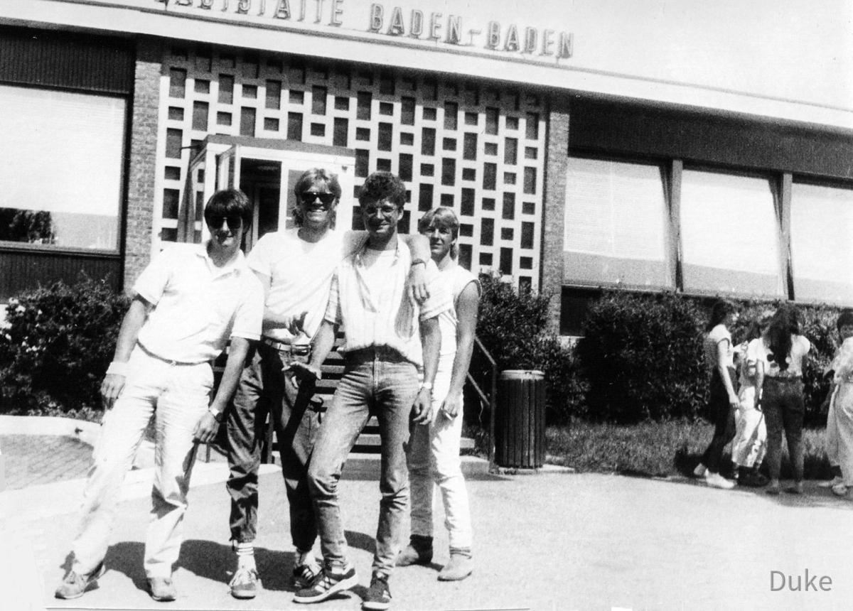 Klassenfahrt nach Strassburg - 1986