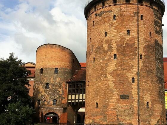 Gdańsk - Gotischer Wehrturm aus dem 14. Jahrhundert