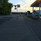 Hyundai Erlkönige an der Ampel in Rüsselsheim-Königstädten