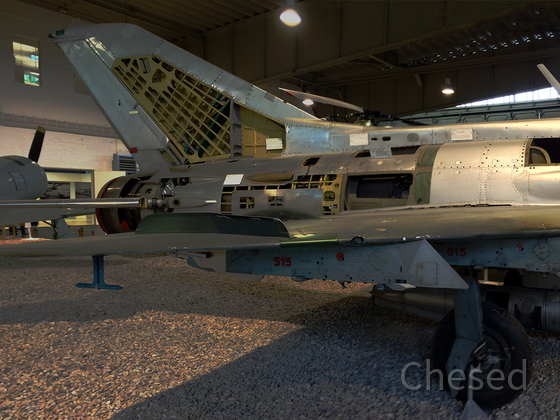 Jagdflugzeug MiG-21 PFM