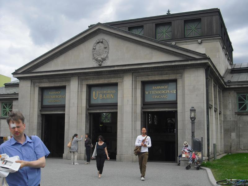 U-Bahnhof - Wittenbergplatz - Berlin
