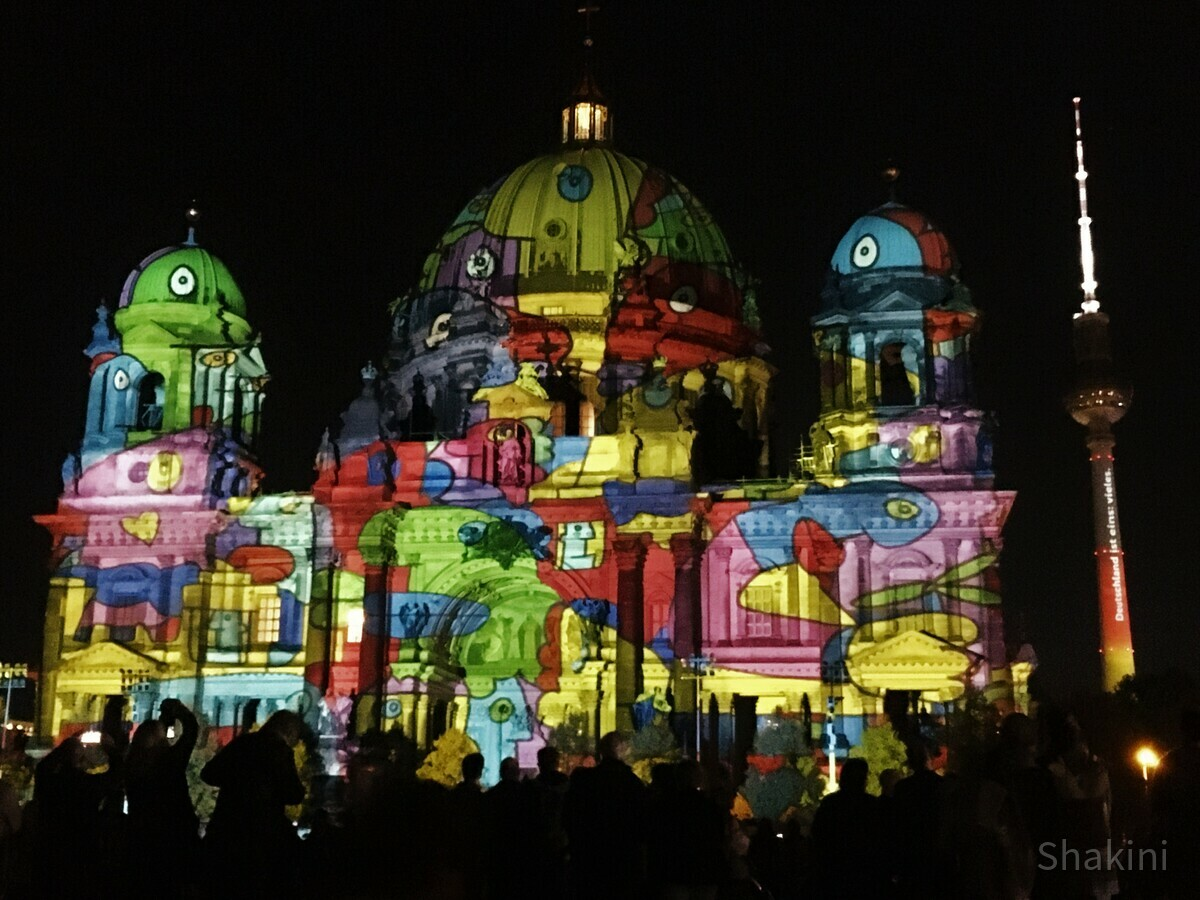 Berliner Dom - Festival of Lights 2019