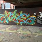 Berlin - Teufelsberg - Graffiti - Stars