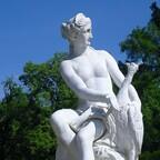 Juno (Hera) mit dem Pfau