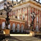 Neues Palais - Parkseitenansicht