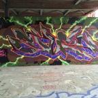 Berlin - Teufelsberg - Graffiti - Flash Letters