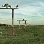 Landebahn- Flughafen Tegel