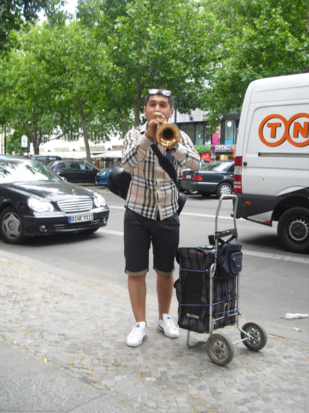 Straßenmusiker - Kurfürstendamm - Berlin