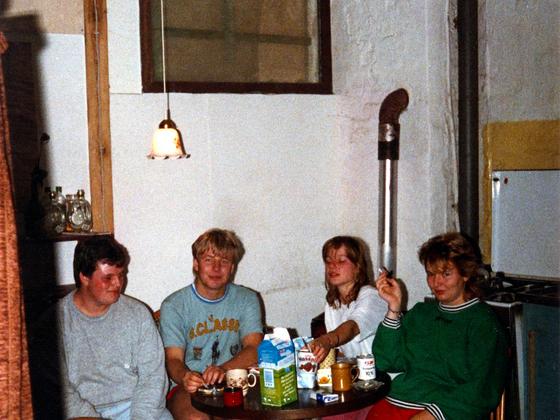 Party-Leute, Abfahrer, Einfahrer aus Rüsselsheim und Wiesbaden in Berlin-Kreuzberg - 1988