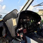 Helikopter - Cockpit - Militärflugplatz Berlin-Gatow