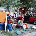 Campingplatz - Torre Pedrera - Rimini - Italien - 1986