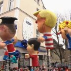 Karneval 2020 - Rosenmontagszug Köln - Verirrte Karnevalisten -Putin ist KEIN Zündler
