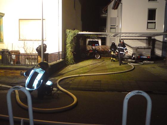 Raus am 1. Weihnachtsfeiertag - Feuerwehr Königstädten