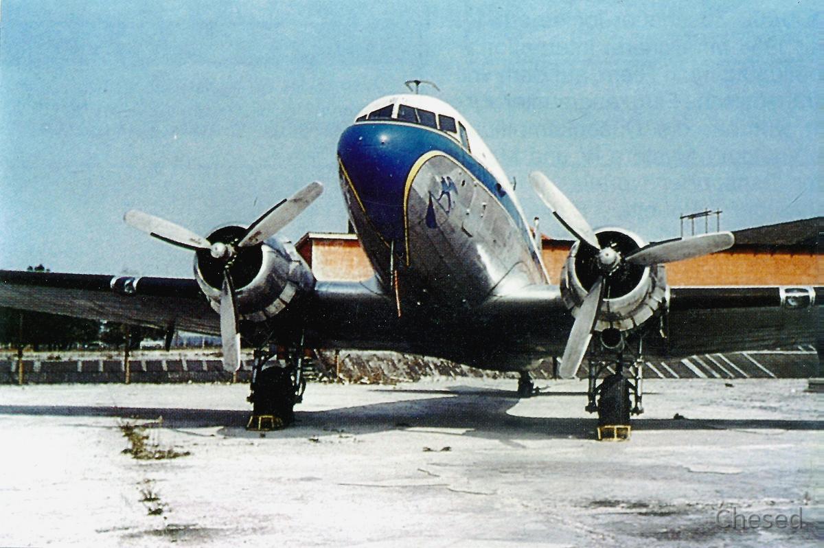 DC-3 (D-CADO) - 1962 - Bavaria 1 - München-Riem