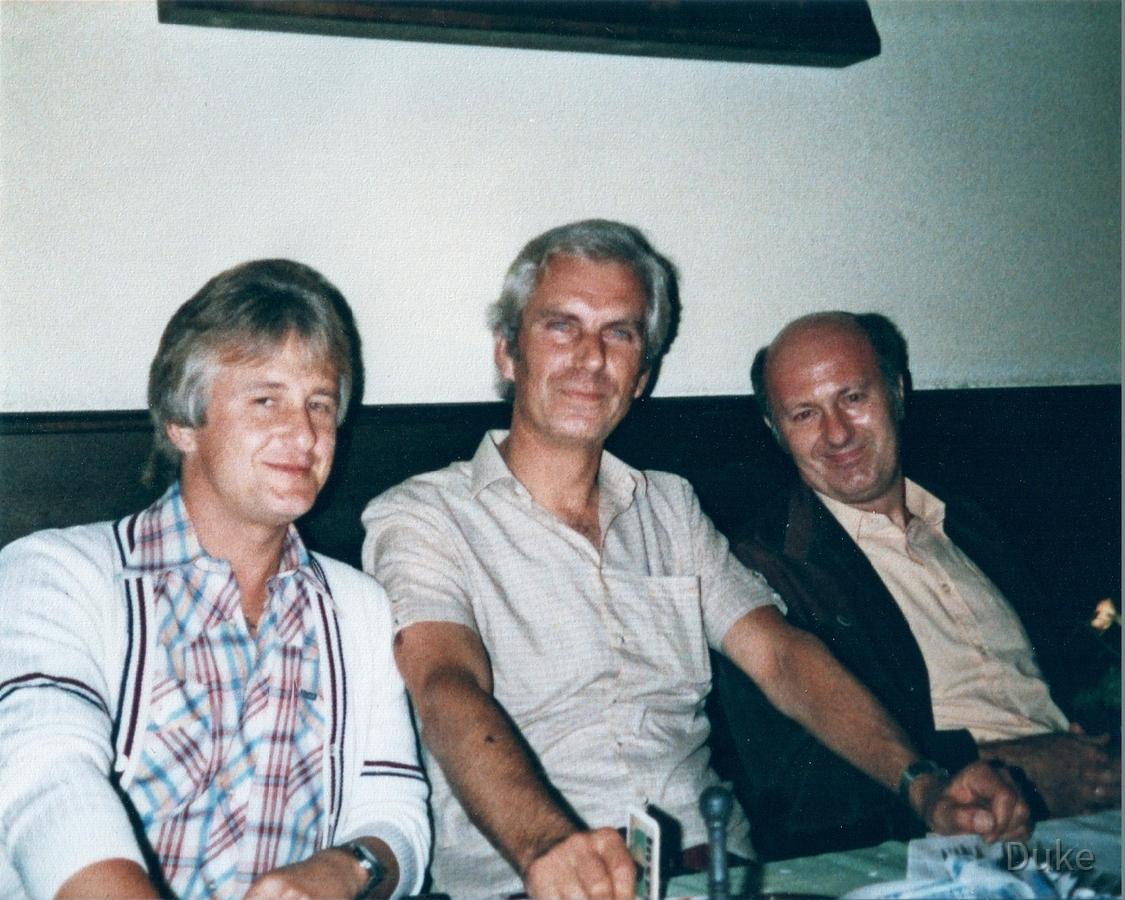 """Radtour um den Bodensee - """"Die 4 Nauheimer"""" beim geselligen Abendessen"""