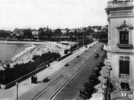 Royan 1940 - ROYAN - La Plage de Foncillon