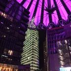 Berlin Erleuchtet - Sony Center - Lila
