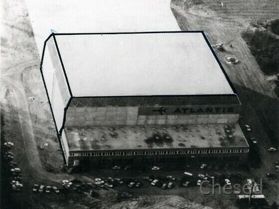 Frankfurt Flughafen - Hangar Atlantis  - 1971