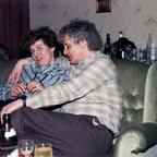 Party 1980 – Rüsselsheim – Marga Ackermann und Peter Wernecke