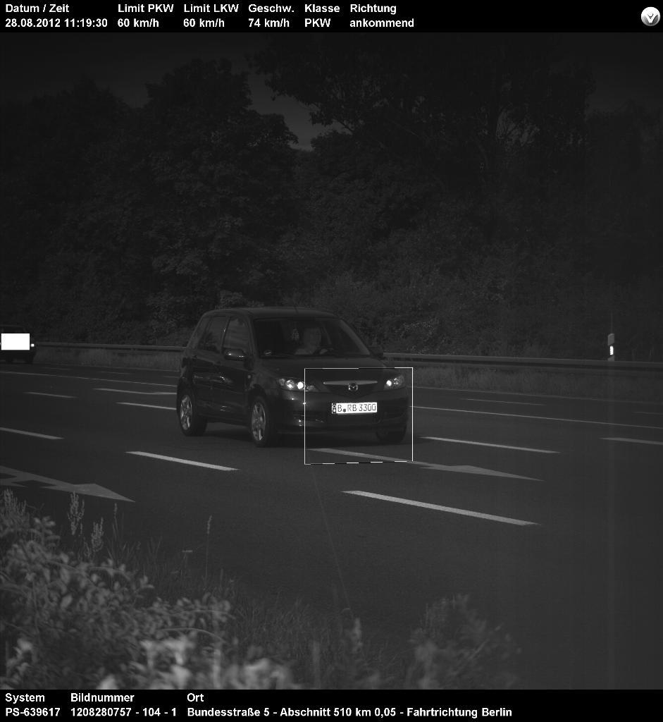 Radar Polizei Foto