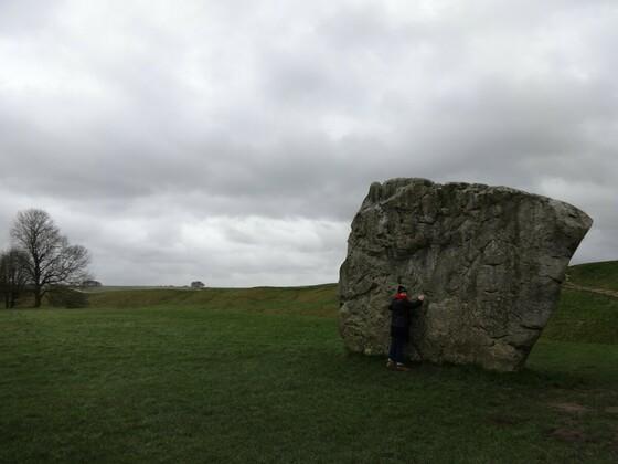 Avebury - Stein und Zeitreisende