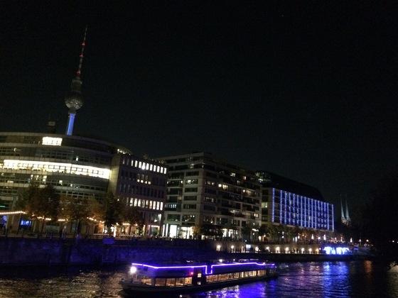 Festival of Lights - Spreefahrt  - Berlin Mitte