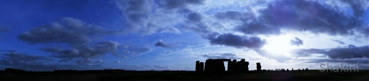 Stonehenge - Sonnenuntergang - Tempelanlage