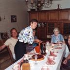 Katarzyna Dondalska bei Großtante Hedwig, Tante Johanna und Onkel Peter