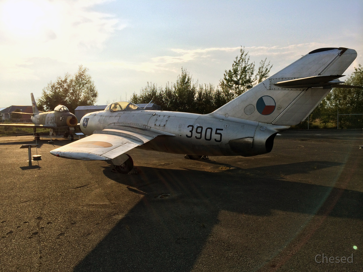 MiG-15bis (NATO-Code Fagot B)