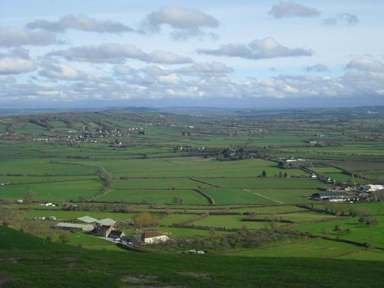 Glastonbury Tor - Die Grafschaft Somerset