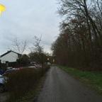 Einschalten der Straßenlaternen in Nauheim