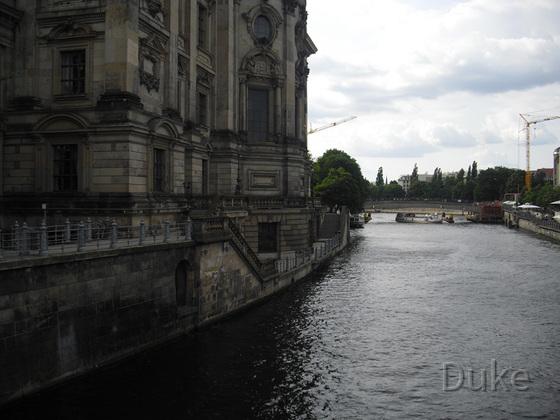 Berliner Dom - Rückansicht
