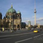 Berliner Dom und Berliner Fernsehturm