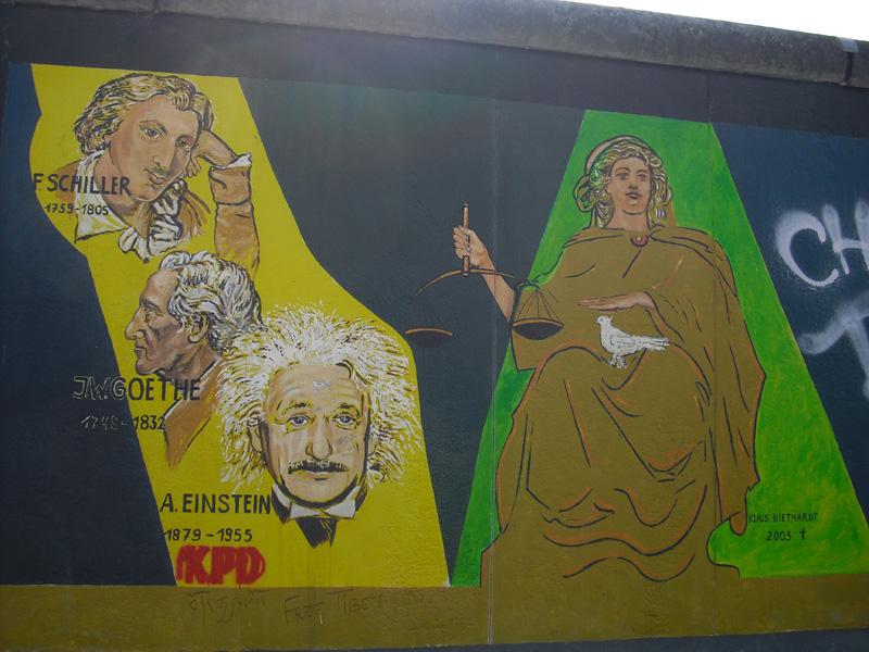 East Side Gallery - Berlin - Graffitis - Klaus Niedhardt