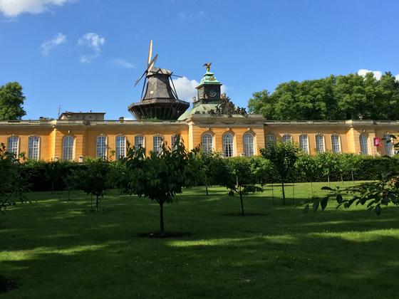 Historische Mühle - Schloss Sans Sanssouci - Potsdam