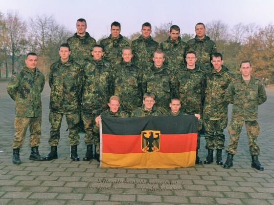 Luftwaffenausbildungsregiment 1, 10. Gruppe - Budel - Niederlande - Jahr 2000