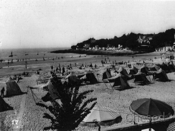 Royan 1940 - St-PALAIS-SUR-MER - La Plage